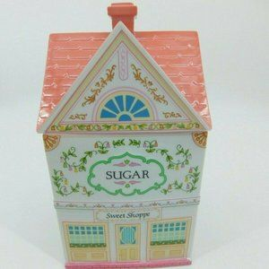 The Lenox Village Canisters Sugar Sweet Shoppe